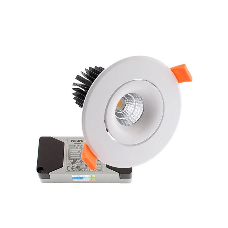 Downlight Led LUXON CREE 9W, Blanco cálido